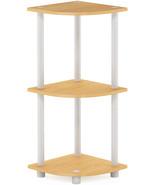 Furinno Turn-N-Tube 3-Tier Corner Display Rack Multipurpose Shelving Uni... - $16.99+