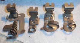 8 New Home Presser Feet Small Gap Hemmer, Binder,Edge Stitch,Ruffeler + ... - $15.00