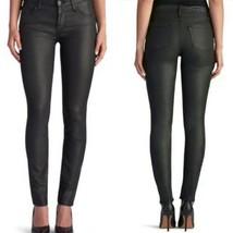 Rock & Republic Women's Jeans Sz 8 W29 L31 Coated Skinny Berlin Black Mi... - $39.55