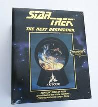 Star Trek Klingon Bird of Prey Lighted Star Globe Halidone 1993 Used Willitts - $9.80
