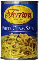 Ferrara White Clam Sauce, 15 Ounce Pack of 12
