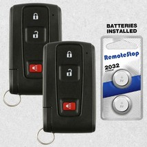 2 For 2004 2005 2006 2007 2008 2009 Toyota Prius Prox Keyless Remote Key... - $118.69