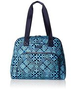 Vera Bradley Women's Go Anywhere Carry-on, Cuban Tiles - $135.24