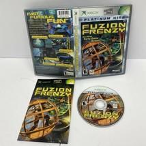 Fuzion Frenzy Platinum Hits (Microsoft Xbox, 2004) Video Game Complete CIB   - $12.99