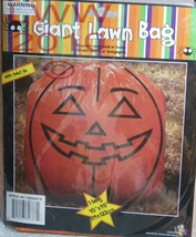 One Giant Pumpkin Jack-o-lantern Pumpkin Lawn/ Leaf Bag - $3.99