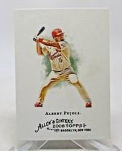 2008 Topps Allen & Ginters Albert Pujols #50 St. Louis Cardinals VG/NM - $0.98