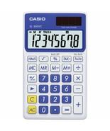 Casio - SL-300VC - Pocket Calculator, 8 Digit Display - Aqua Blue - $12.82