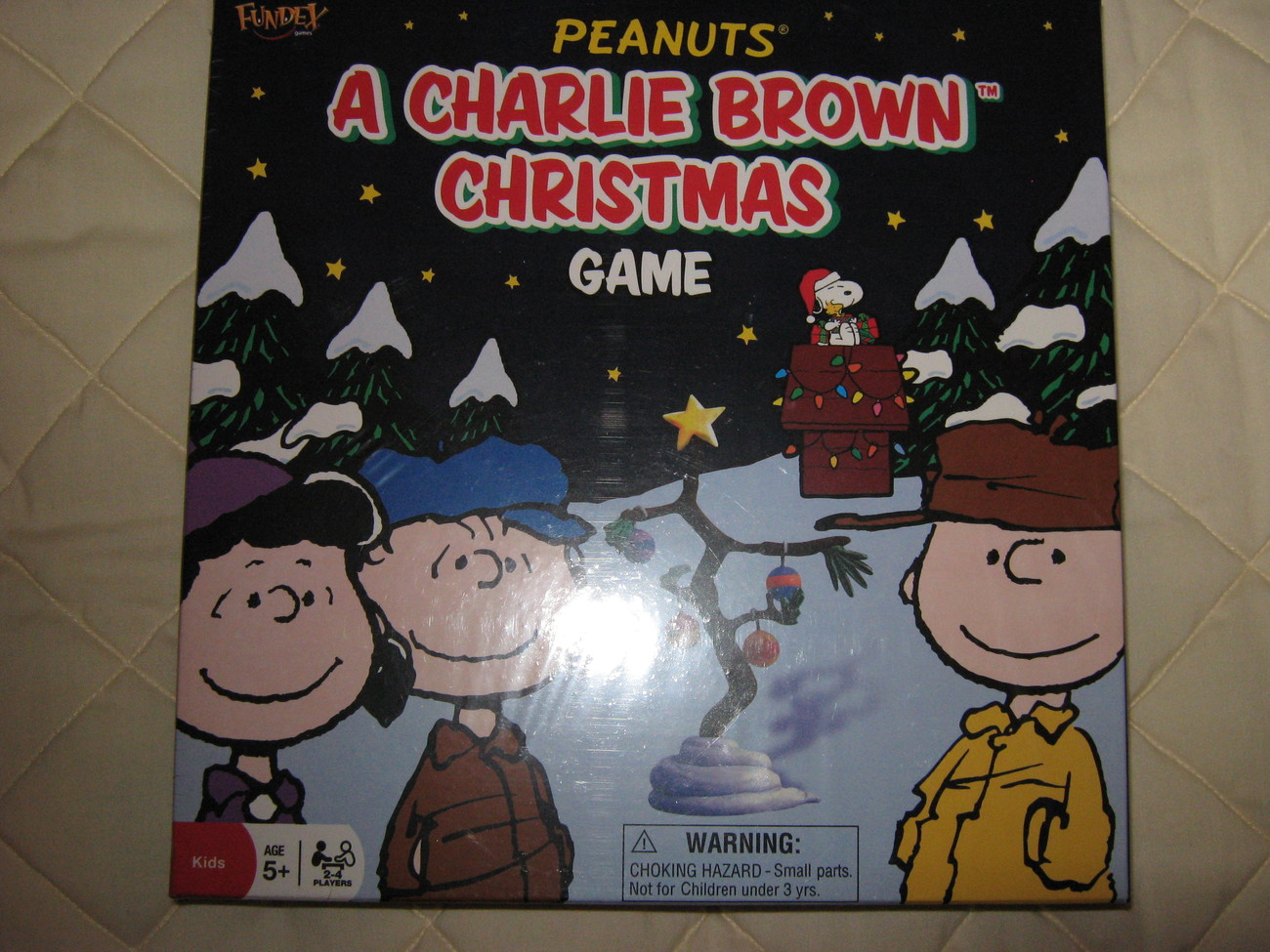 Peanuts A Charlie Brown Christmass Game
