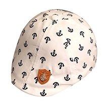 Unisex Baby Sun Hat Infant Cotton Cap Toddler Beret Cap Great Gift Beige Hat image 2