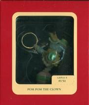 1992 Carlton Cards Heirloom Collection Ornament - Pom Pom the Clown - 12... - $4.45