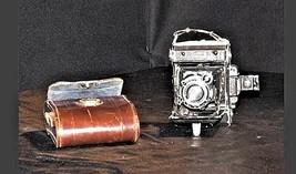 Zeiss Ikon Range Finder Camera Original Brown Leather Case AA18-1050 - $227.65