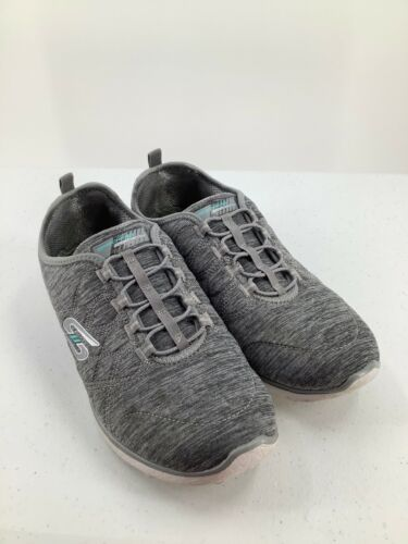Skechers 9.5 Shoes Air Cooled Memory Foam SN23315 Grey Athletic