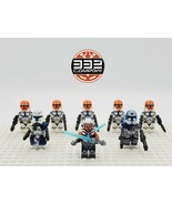 Star Wars Ahsoka Tano Rex Jesse 332nd Clones 8 Minifigures Set Lot - USA... - $21.99