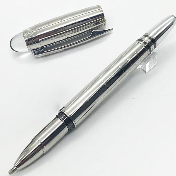 luxury Classique black checkered Fountain Pen 14k 4810 nib white star crystal to