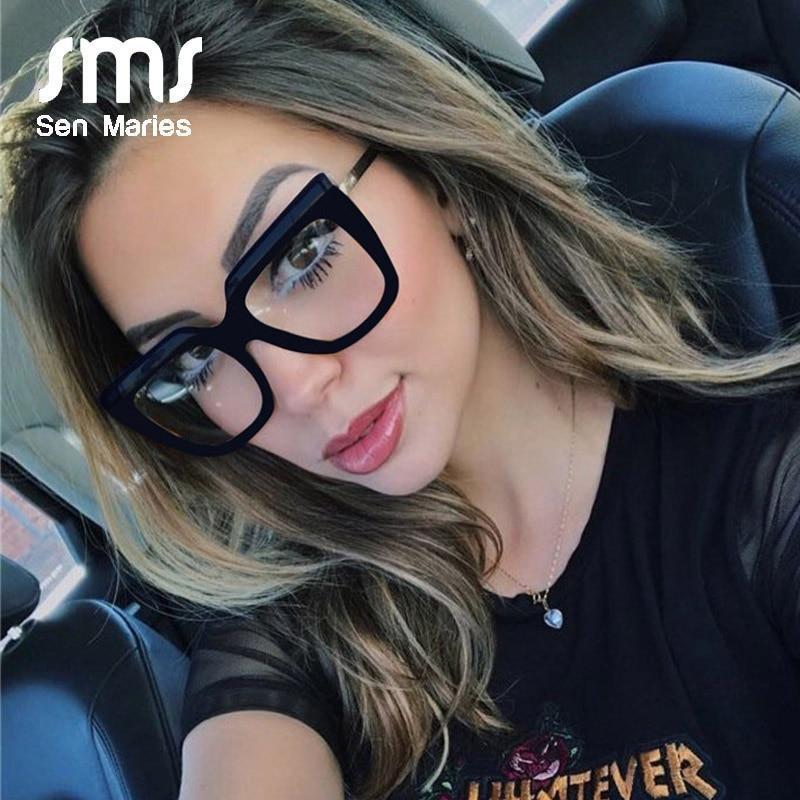 Ack classic cat eye clear glasses frame fashion glasses reading glasses clear lens women optical