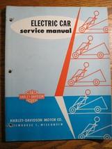 1963 1964 1965 Harley-Davidson Electric Car Golf Cart Service Manual, Original  - $99.00