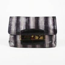 "Jimmy Choo Eel Snakeskin ""Carolina"" Clutch - $408.97 CAD"