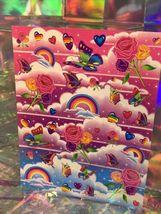 SALE⚡️S282  Lisa Frank Rainbows Roses Butterflies Sticker Sheet Full image 3