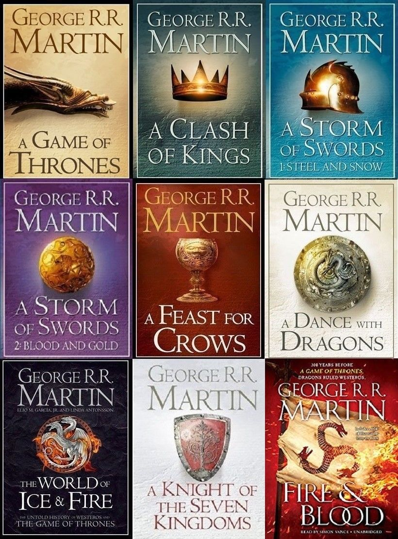 George R. R. Martin A Game of Thrones 5 AudioBook Set - Plus 3 Extra Books