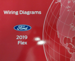 2019 Ford FLEX Wiring Electrical Diagram Manual OEM EWD EVTM Factory - $59.35
