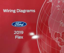 2019 Ford FLEX Wiring Electrical Diagram Manual OEM EWD EVTM Factory - $59.35