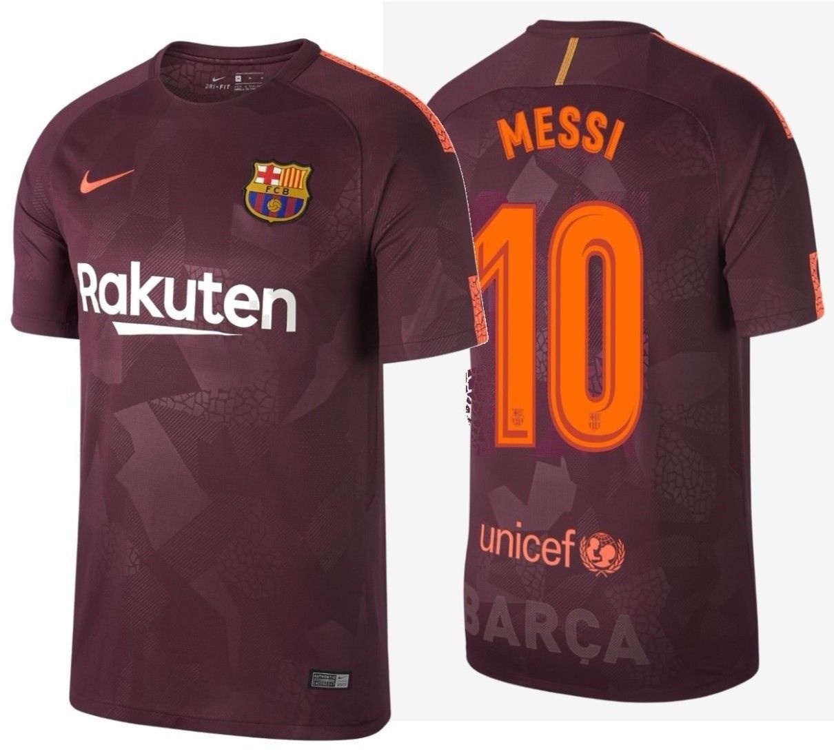 7422ccd0e Nike Lionel Messi Fc Barcelona Third Jersey and 50 similar items