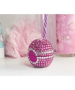 Embellished organic eos lip balm. Wildberry, pink sparkle & bling. Great... - $16.42