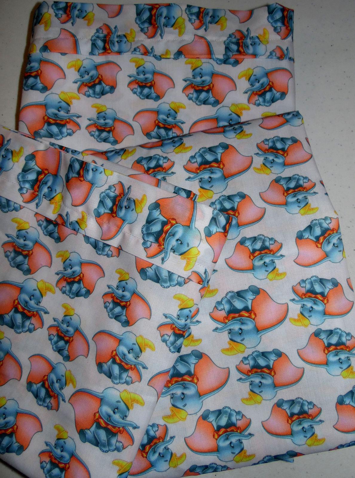 Custom Crib Toddler Bed Sheet Set Dumbo Elephant 3