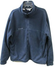 Columbia  Men's Polar Fleece Full Zipper Jacket Size Large - $19.99