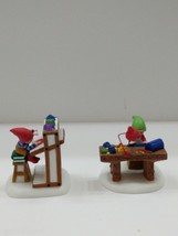 Dept 56 North Pole Village MORE PLAY-DOH PLEASE! #56822 sculpting studio * - $20.10