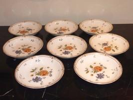 8 Wedgwood ROSEMEADE Fruit Dessert Bowls - $179.00