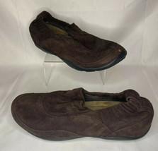 Dansko Cadence Dark Chocolate Brown Suede Shoes Womens  Size 11.5/12 EU 42 - $29.99