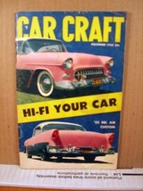 Car Craft Magazine December 1955 Hi-Fi Your car image 1
