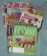 Lot of 9 Western Horseman Magazine Back Issues + Bonus - $27.00