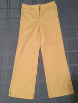 Girls-Size 6 Regular-Izod pants/uniform - khaki pants -Great for school - $10.15
