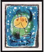 Joan Miró Lithograph 1975 Listed Mourlot 244 Litógrafo, XXe Siecle No 8 ... - $195.00