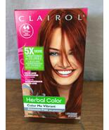 CLAIROL HERBAL COLOR - COLOR ME VIBRANT - PERAMENT COLOR - DEEP RED #44 ... - $7.25