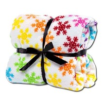 "seasonal printed blankets with Design Size 50"" x 60"" image 2"
