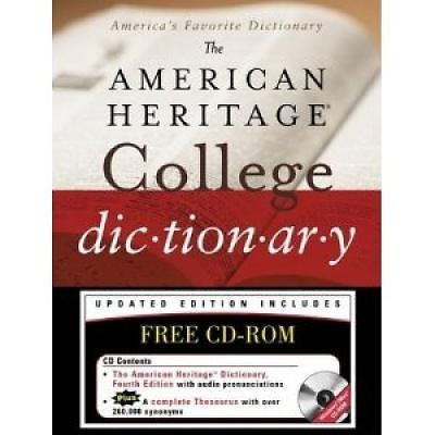 The American Heritage College Dictionary (2004, Hardcover)