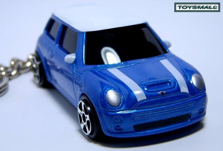 KEY CHAIN 2003~20010 BLUE WHITE TOP BMW NEW MINI COOPER Bonanza