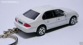 KEYRING WHITE LEXUS LS430 V6 LS 430 KEY CHAIN RING FOB - $49.98