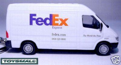 KEY CHAIN FEDERAL EXPRESS FEDEX DODGE SPRINTER RING FOB Bonanza