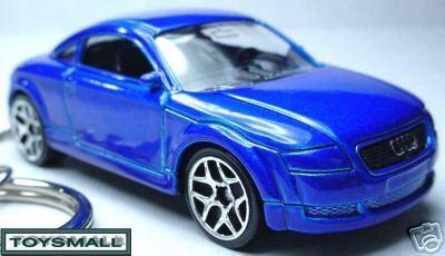 KEY CHAIN BLUE AUDI TT COUPE 1.8L/2.0 TURBO/3.2 QUATTRO Bonanza