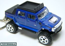 KEY CHAIN 2006/2007/2008/2009/2010 BLUE HUMMER H2 SUT ! - $24.95