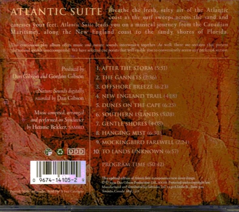 CD Atlantic Suite Classical Music