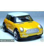 2002~2008 YELLOW/WHITE BMW MINI COOPER/S KEY CHAIN RING - $28.95