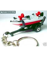 KEYRING FISHING BOAT & TRAILER KEY CHAIN RING TAG / FOB - $29.95