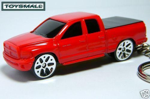 KEY CHAIN 2002~07~2008 RED DODGE RAM 1500 TRUCK KEYRING Bonanza