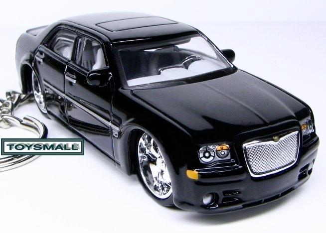 KEY CHAIN 2006~2007~2008~2009~2010 BLACK CHRYSLER 300C Bonanza