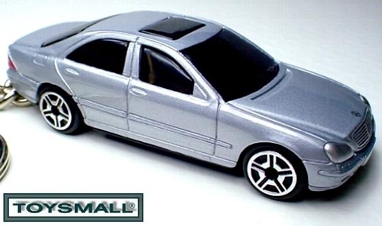 KEY CHAIN 2002~2006 SILVER MERCEDES ® S CLASS S430 S500 Bonanza